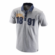 Classic jersey polo 1891 grey