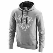 Basic hoodie whit Vabis print grey