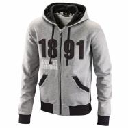 Original zip hoodie 1891 grey