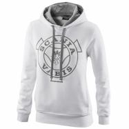 W Classic hoodie white