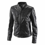 W classic leather jacket