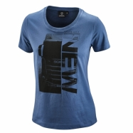 W The all New T-Shirt blue