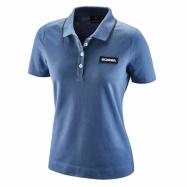 W Classic Piqué blue