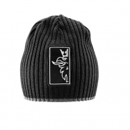 Contrast ribbed Beanie