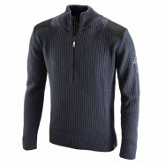 Knitted zip Pullover