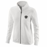 W Classic zip Sweatshirt white