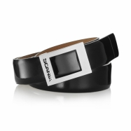 Women's Leather Belt Black