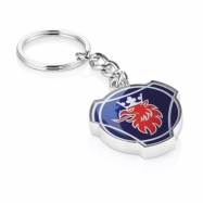 Key ring blue