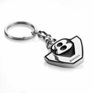V8 Key ring Chrome