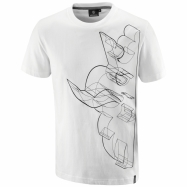Regular 3D Griffin T-shirt (white)
