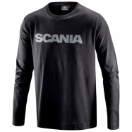 Regular Long-sleeve Wordmark T-shirt