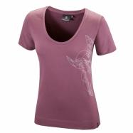 Slim 3D Griffin T-shirt (plum)