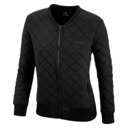 Quilted Zip Sweatshirt