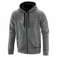 Original Pattern Zip Hoodie