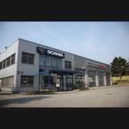 Scania Echandens LCR / poids et mesures